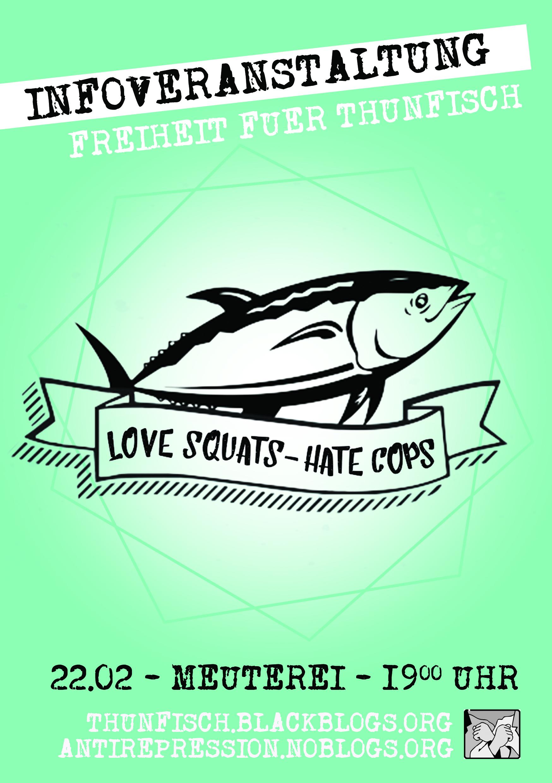 22.02] Info-Veranstaltung: Freiheit für Balu und Thunfisch! « meuterei